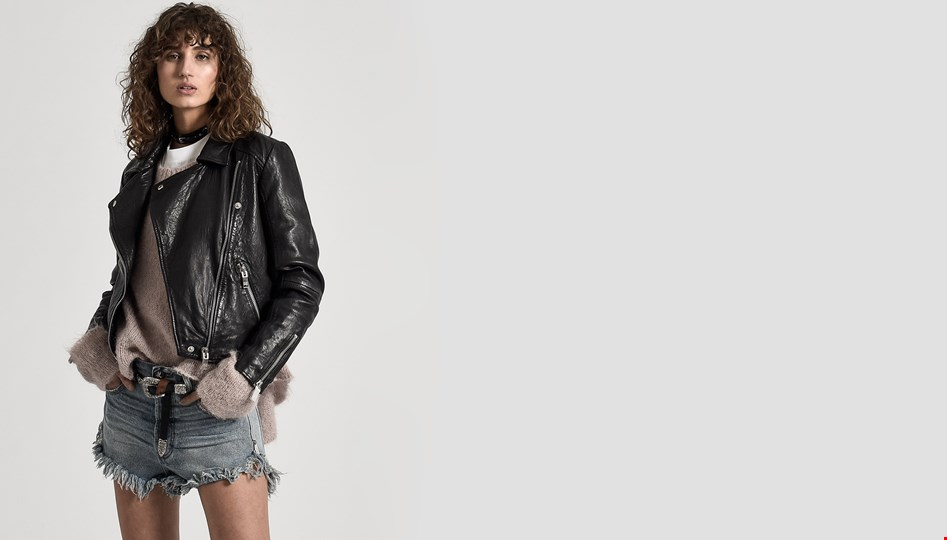 SUPERIOR TEXTURED LEATHER JACKET