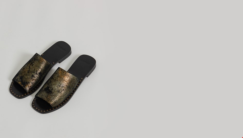 LEATHER FILTHY RICH LUELLA SLIDE